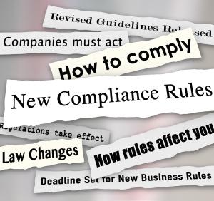 Compliance;  environmental regulations; retail environmental compliance;  Compliance management ; regulations; regualtory compliance; requirements; obligations;