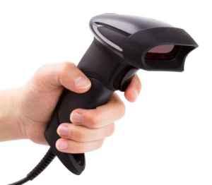 Bar code reader (scanner). Telxon. RF Scanner. RF Unit. Automated systems. Backroom solutions.